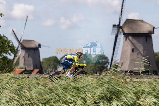 Oleksandr Holovash (UKR) in action during the 2019 ITT Elite Men European Championships, 8th August 2019. Photo by Thomas van Bracht / PelotonPhotos.com | All photos usage must carry mandatory copyright credit (Peloton Photos | Thomas van Bracht)