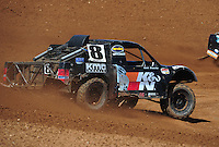Apr 16, 2011; Surprise, AZ USA; LOORRS driver Kent Brascho during round 3 at Speedworld Off Road Park. Mandatory Credit: Mark J. Rebilas-.