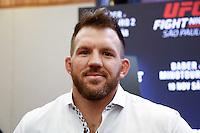 SÃO PAULO, SP, 17.11.2016 - UFC-SP - Ryan Bader durante Media Day do Ultimate Fight Championship (UFC) Fight Night São Paulo - Bader- Minotauro 2, no hotel Renaissance, na tarde desta quinta-feira, 18. (Foto: Adriana Spaca/Brazil Photo Press)