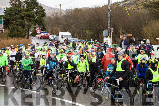 Over 150 riders took part in the Valentine Ride in memory of Ita Corridan on Saturday from Caherdaniel Cross with all funds going to Marymount Hospice, Cork.