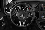 Car pictures of steering wheel view of a 2016 Mercedes Benz Metris Passenger-Van 5 Door Passenger Van Steering Wheel