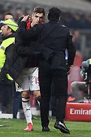 Krzysztof Piatek and Gennaro Gattuso of AC Milan <br /> Milano 22-02-2019 Stadio Giuseppe Meazza in an Siro Football Serie A 2018/2019 AC Milan - Empoli <br /> Foto Image Sport / Insidefoto