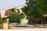 Domaine Mas Jullien, Jonquieres village. Terrasses de Larzac. Languedoc. The main building. France. Europe.