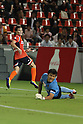 Rodrigo Pimpao (Ardija),..AUGUST 7, 2011 - Football / Soccer :..Rodrigo Pimpao of Omiya Ardija scores his team's second goal past goalkeeper Takuto Hayashi of Vegalta Sendai during the 2011 J.League Division 1 match between Omiya Ardija 2-2 Vegalta Sendai at NACK5 Stadium Omiya in Saitama, Japan. (Photo by Hiroyuki Sato/AFLO)