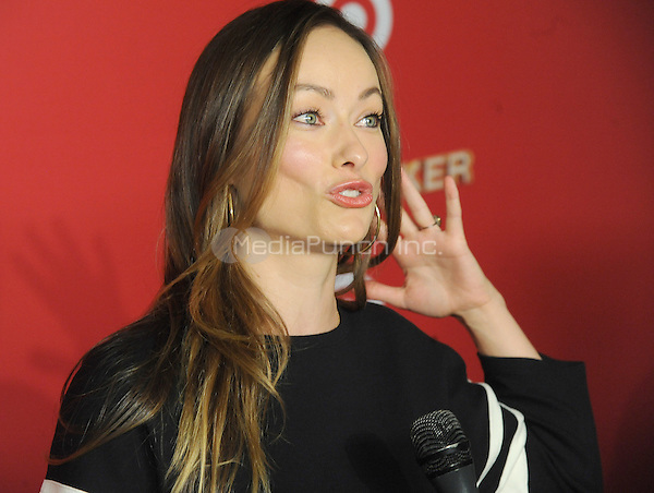 NEW YORK, NY - DECEMBER 07:  Actress Olivia Wilde attends as Target Presents 'The Toycracker' Premiere Event at Spring Studios on December 7, 2016 in New York City. Photo by John Palmer/MediaPunch