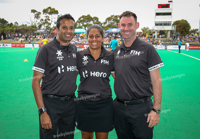 FIH Pro League 2019<br /> Hobart 10/02/2019<br /> Australia v Germany <br /> <br /> <br /> Photo: Grant Treeby
