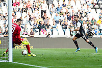 Cristiano Ronaldo of Juventus scores a goal <br /> Torino 28/09/2019 Allianz Stadium <br /> Football Serie A 2019/2020 <br /> Juventus FC - SPAL <br /> Photo Image Sport / Insidefoto