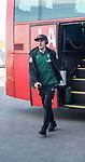 07.01.2018, San Pedro del Pinatar, Pinatar Arena, ESP, FSP FC Twente Enschede (NED) vs Werder Bremen (GER), im Bild<br /> <br /> Ankunft der Mannschaft am Stadion mit dem Bus und anschliessender Platzbegehung<br /> <br /> Max Kruse (Werder Bremen #10)<br /> <br /> Foto &copy; nordphoto / Kokenge