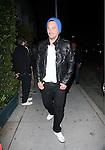 .March 22nd 2012..Sean Stewart & friends eat at Mr.Chow in Beverly Hills...AbilityFilms@yahoo.com.805-427-3519.www.AbilityFilms.com