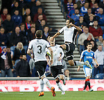 Rangers v St Johnstone...22.09.15  Scottish League Cup Round 3, Ibrox Stadium<br /> Simon Lappin celebrates his goal<br /> Picture by Graeme Hart.<br /> Copyright Perthshire Picture Agency<br /> Tel: 01738 623350  Mobile: 07990 594431