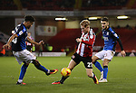 Mark Duffy of Sheffield Utd during the English League One match at Bramall Lane Stadium, Sheffield. Picture date: December 10th, 2016. Pic Simon Bellis/Sportimage