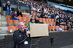 The half-time draw is announced as Edinburgh City take on Scottish Cup winners Hibernian a pre-season friendly at Meadowbank Stadium. The match was City's first at the Commonwealth Stadium since they gained promotion from the Lowland League to the Scottish League in May 2016. A record crowd for a City match of 2500 spectators saw the visitors run out 6-1 winners.