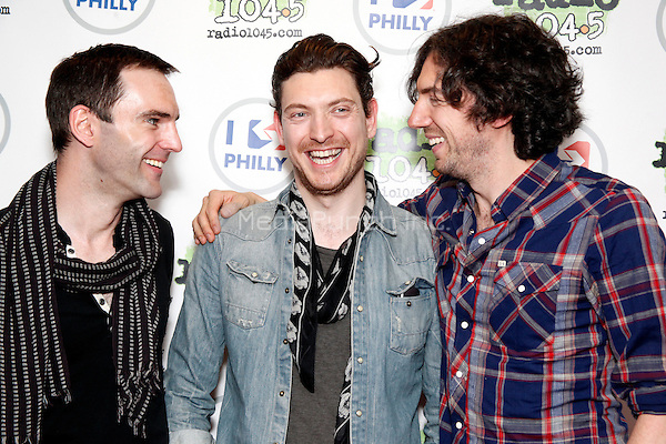Snow Patrol visits Radio 104.5 iHeart Performance Theater in Bala Cynwyd, Pa on April 10, 2012  © Star Shooter / MediaPunchInc