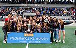 AMSTELVEEN - AMSTERDAM MB1 wint de titel Meisjes B. finales A en B jeugd  Nederlands Kampioenschap.  COPYRIGHT KOEN SUYK