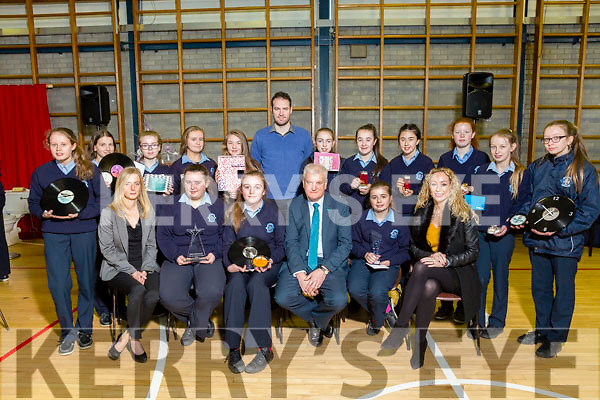 Presentation, Secondary School, Castleisland, Student awards presentation at  St Johns Hall on Thursday