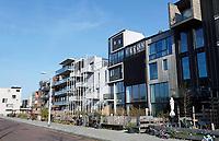Nederland - Amsterdam -  2019.  Nieuwbouw in Buiksloterham. Zelfbouw in de Monnikskapstraat.  Foto Berlinda van Dam / Hollandse Hoogte