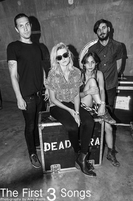 Emily Armstrong, Sean Friday, Siouxsie Medley, and Chris Nullof Dead Sara perform at the 2014 Bunbury Music Festival in Cincinnati, Ohio
