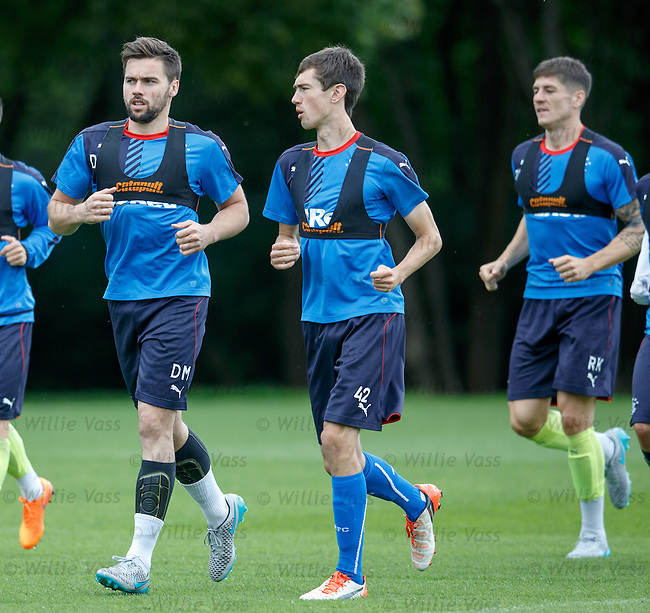 Darren McGregor and Ryan Hardie
