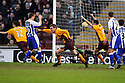09/02/2008    Copyright Pic: James Stewart.File Name : sct_jspa07_motherwell_v_kilmarnock.DAVID CLARKSON CELEBRATES AFTER HE HEADS HOME MOTHERWELL'S LATE WINNER.James Stewart Photo Agency 19 Carronlea Drive, Falkirk. FK2 8DN      Vat Reg No. 607 6932 25.Studio      : +44 (0)1324 611191 .Mobile      : +44 (0)7721 416997.E-mail  :  jim@jspa.co.uk.If you require further information then contact Jim Stewart on any of the numbers above........