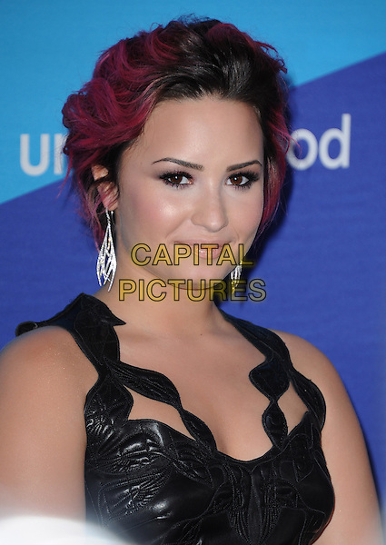 LOS ANGELES, CA - FEBRUARY 27 - Demi Lovato attends unite4:good and Variety presentation &quot;unite4:humanity&quot; Celebrating Good, Giving and Greatness Around the Globe held at Sony Picture Studios in Culver City, California on February 27,2014                                                                              <br /> CAP/DVS<br /> &copy;DVS/Capital Pictures
