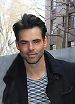 General Hospital's Jason Thompson taped Katie Couric's Talk Show on April 2, 2013 in New York City, New York. Fans came to the show and were outside the studio to greet the actors as they left. (Photo by Sue Coflin/Max Photos)