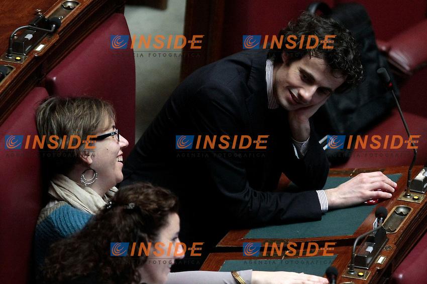 Davide Crippa<br /> Roma 11-02-2014 Camera. Voto Finale: Conversione in legge del decreto-legge Destinazione Italia.<br /> Photo Samantha Zucchi Insidefoto