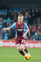 Liam O'Neil of Scunthorpe U<br />  - Scunthorpe United vs Rochdale - Sky Bet League One Football at Glanford Park, Scunthorpe, Lincolnshire - 26/12/14 - MANDATORY CREDIT: Mark Hodsman/TGSPHOTO - Self billing applies where appropriate - contact@tgsphoto.co.uk - NO UNPAID USE