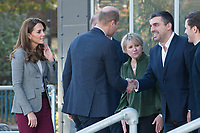Prince William, Duke of Cambridge and Catherine, Duchess of Cambridge attend Shout's Crisis Volunteer celebration event at the Troubadour White City Theatre in London. NOVEMBER 12th 2019. Credit: Matrix/MediaPunch ***FOR USA ONLY***<br /> <br /> REF: TST 194019