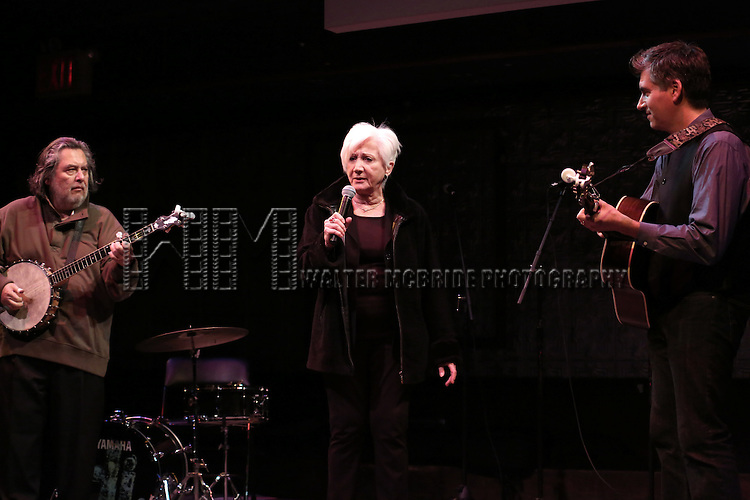 Al Ramos, Olympia Dukakis and Stefan Zorich  perform at the La Mama Earth Gala Honoring Olympia Dukakis And Dan Kutz at the Ellen Stewart Theatre on November 13, 2014 in New York City.