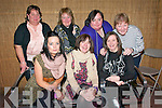 Enjoying Womens Christmas  and celebrating her 40th birthday at Lawlors Bar  in Listowel on Thursday night Vivienne Canty, centre front and her friends Patsy Canty & Liz Quinn and at the back Lisa Healy, Noreen Healy, Tina Canty & Kay Halpin.