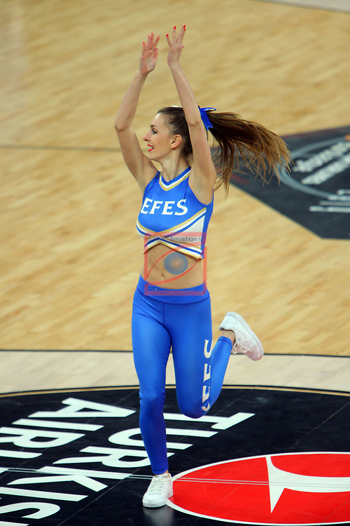 Turkish Airlines Euroleague.<br /> Final Four - Vitoria-Gasteiz 2019.<br /> Semifinals.<br /> CSKA Moscow vs Real Madrid: 95-90.<br /> Red Passion Fly.