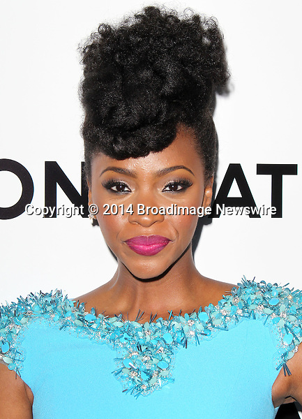 Pictured: Teyonah Parris<br /> Mandatory Credit &copy; Frederick Taylor/Broadimage<br /> &quot;Mad Men&quot; Season 7 Premiere <br /> <br /> 4/2/14, Hollywood, California, United States of America<br /> <br /> Broadimage Newswire<br /> Los Angeles 1+  (310) 301-1027<br /> New York      1+  (646) 827-9134<br /> sales@broadimage.com<br /> http://www.broadimage.com
