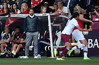 Arsenal manager Joe Montemurro looks on during Arsenal Women vs West Ham United Women, Barclays FA Women's Super League Football at Meadow Park on 8th September 2019