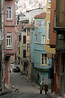 The historical neighbourhood of Fener, Istanbul, Turkey