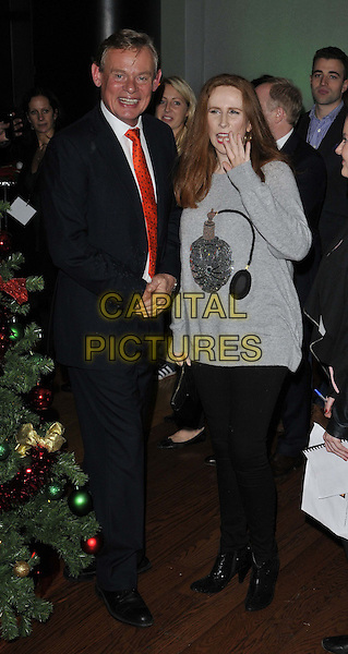 LONDON, ENGLAND - NOVEMBER 02: Martin Clunes &amp; Catherine Tate attend the &quot;Nativity 3: Dude, Where's My Donkey&quot; UK film premiere, Vue West End cinema, Leicester Square, on Sunday November 02, 2014 in London, England, UK. <br /> CAP/CAN<br /> &copy;Can Nguyen/Capital Pictures