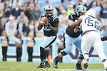 23 November 2013: UNC's Marquise Williams. The University of North Carolina Tar Heels played the Old Dominion University Monarchs at Keenan Stadium in Chapel Hill, NC in a 2013 NCAA Division I Football game. UNC won the game 80-20.