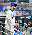 Daisuke Matsuzaka (Mets),<br /> SEPTEMBER 14, 2013 - MLB :<br /> Daisuke Matsuzaka of the New York Mets walks back to the dugout during the second game of a Major League Baseball doubleheader against the Miami Marlins at Citi Field in Flushing, New York, United States. (Photo by AFLO)