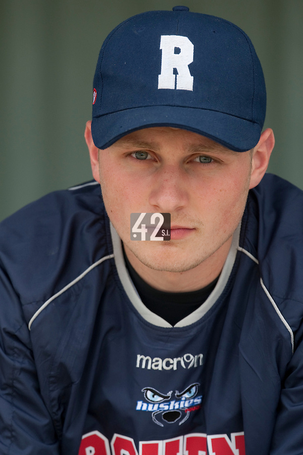 21 May 2009: Alexandre Sochon is seen in the dugout during the 2009 challenge de France, a tournament with the best French baseball teams - all eight elite league clubs - to determine a spot in the European Cup next year, at Montpellier, France.