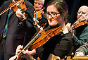 The Falkirk Music Pot, Falkirk Town Hall : Pre Concert Preparations and Sound Checks : Falkirk Fiddle Workshop