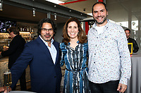 "LOS ANGELES - APRIL 15: Ken Biller, Carolyn Bernstein and Mathias Herndl attends a dinner and conversation celebrating the premiere of National Geographic's ""Genius: Picasso"" at Ray's and Stark Bar LACMA on April 15, 2018 in Los Angeles, California. (Photo by John Salangsang/NatGeo/PictureGroup)"
