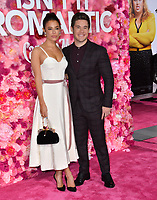 LOS ANGELES, CA. February 11, 2019: Chloe Bridges &amp; Adam DeVine at the premiere of &quot;Isn't It Romantic&quot; at The Theatre at Ace Hotel.<br /> Picture: Paul Smith/Featureflash