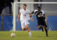 Florida International University men's soccer player John Kite (15)  plays against Florida Atlantic University on August 28, 2011 at Miami, Florida.  The game ended in a 1-1 overtime tie. .