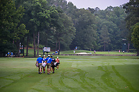 So Yeon Ryu (KOR), Danielle Kang (USA), and Anna Nordqvist (SWE) head down 11 during round 1 of the U.S. Women's Open Championship, Shoal Creek Country Club, at Birmingham, Alabama, USA. 5/31/2018.<br /> Picture: Golffile   Ken Murray<br /> <br /> All photo usage must carry mandatory copyright credit (© Golffile   Ken Murray)
