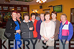 Pictured at a Fund Raising Dance in Fr. Casey's GAA Clubhouse in Abbeyfeale on Sunday in aid of local volunteers who will be travelling to Kenya with the Ray of Sunshine Foundation to build schools were L-R : Anita Keane and Betty Kelly of Abbeyfeale, Margaret Sheahan of Mountcollins, Joan O'Callaghan of Monagea, Catherine Lenihan, Sheila Lane and Kathleen O'Connell of Mountcollins and Joan O'Sullivan of Killarney.