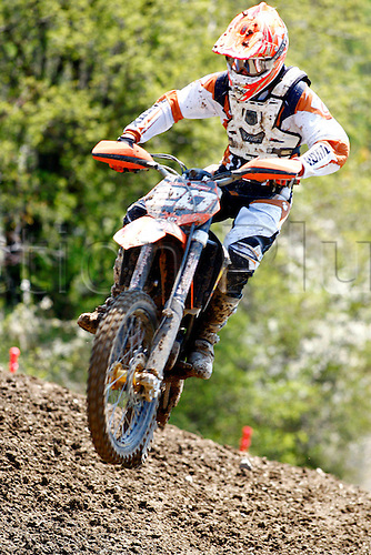 25 04 2010  Pictures Motocross MX Open Sittendorf Sittendorf Austria 25 APR 10 motor Motorcycle Motocross MX Open Sittendorf Picture shows Christian Schrenk AUT KTM