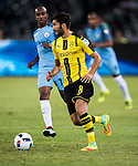 Borussia Dortmund midfielder Nuri Sahin (r) during the match against Manchester City FC at the 2016 International Champions Cup China match at the Shenzhen Stadium on 28 July 2016 in Shenzhen, China. Photo by Victor Fraile / Power Sport Images