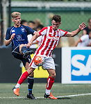 Hong Kong Football Club vs Stoke City during the Main tournament of the HKFC Citi Soccer Sevens on 22 May 2016 in the Hong Kong Footbal Club, Hong Kong, China. Photo by Lim Weixiang / Power Sport Images