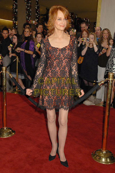 SWOOSIE KURTZ.9th Annual Family Television Awards at the Beverly Hilton Hotel, Beverly Hills, California, USA..November 28th, 2007.full length black red lace dress .CAP/ADM/BP.©Byron Purvis/AdMedia/Capital Pictures.