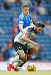 28.07.2019 Rangers v Derby County: Greg Docherty and Graeme Shinnie