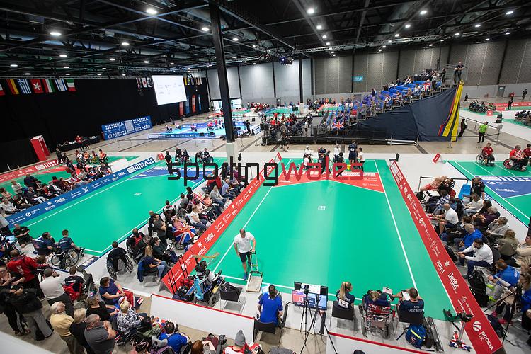 BISFed 2018 World Boccia Championships <br /> Exhibition Centre Liverpool<br /> 17.08.18<br /> ©Steve Pope<br /> Sportingwales